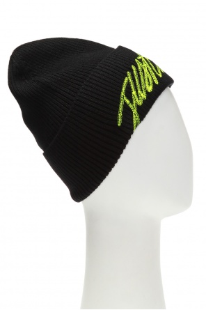 Logo-embroidered hat od Just Cavalli