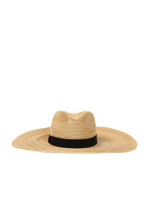 Wide-brimmed straw hat od Dsquared2
