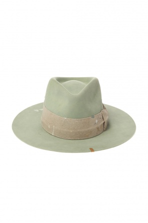 'santa lucia' hat with worn effect od Nick Fouquet