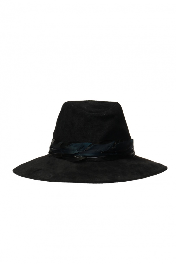Zadig & Voltaire Hat with feathers
