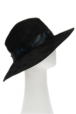 Hat with feathers od Zadig & Voltaire