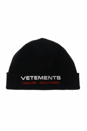 Hat with logo od Vetements