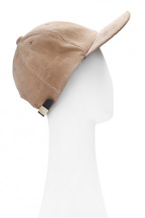 Sztruksowa czapka z daszkiem od Undercover