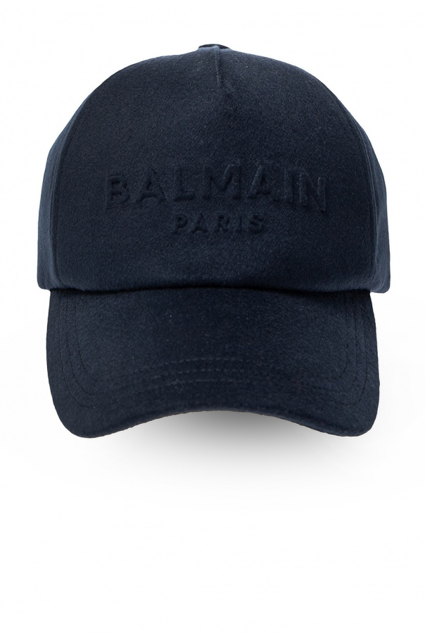 Balmain Cashmere baseball cap