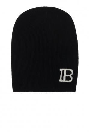 Wool hat with logo od Balmain