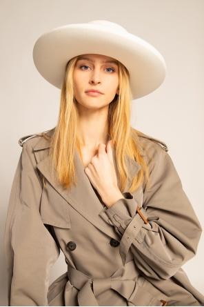 Hat with grosgrain ribbon od Balmain