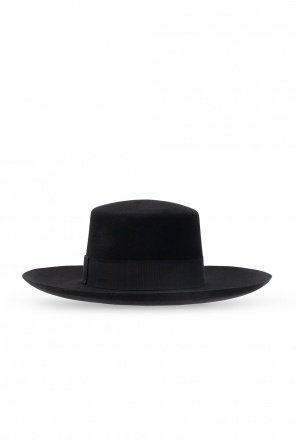 Hat with grosgrain ribbon od Balmain
