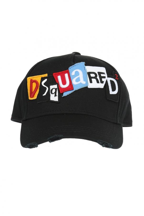 db682ee527cec Embroidered logo baseball cap Dsquared2 - Vitkac shop online