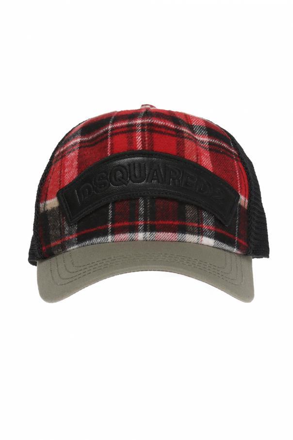 b0197f7e7 Mesh-trim baseball cap Dsquared2 - Vitkac shop online