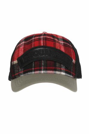 Mesh-trim baseball cap od Dsquared2