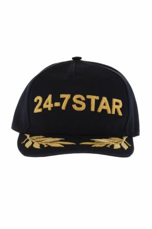 Appliqued baseball cap od Dsquared2