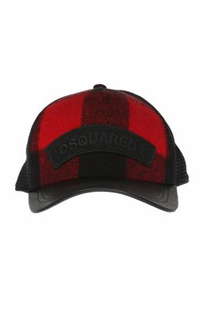 Mesh back baseball cap od Dsquared2