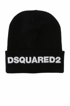 Logo-appliqued hat od Dsquared2