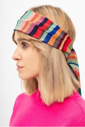Patterned headband od Paul Smith