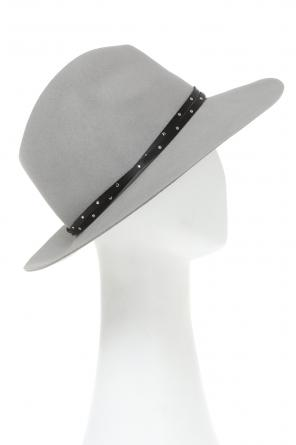 Leather band hat od Rag & Bone