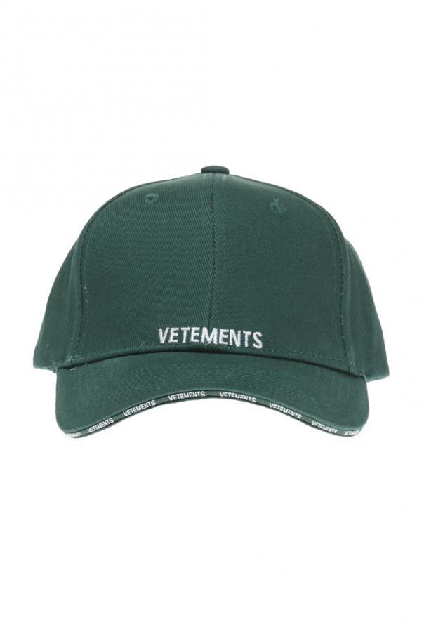81048d848ab2d1 Logo-stitched baseball cap Vetements - Vitkac shop online