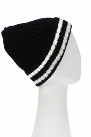 Hat with contrast stripes od Junya Watanabe Comme des Garcons