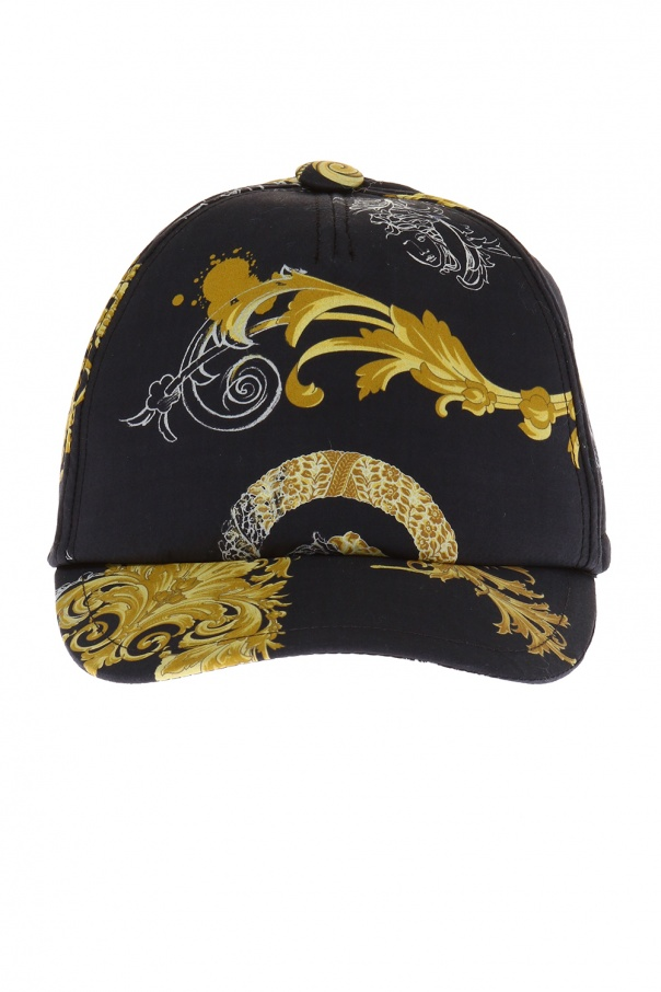 Versace Young Patterned baseball cap