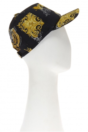 Patterned baseball cap od Versace Young