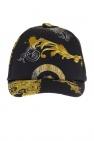 Versace Young Wzorzysta czapka z daszkiem