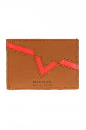 Metal logo card case od Diesel