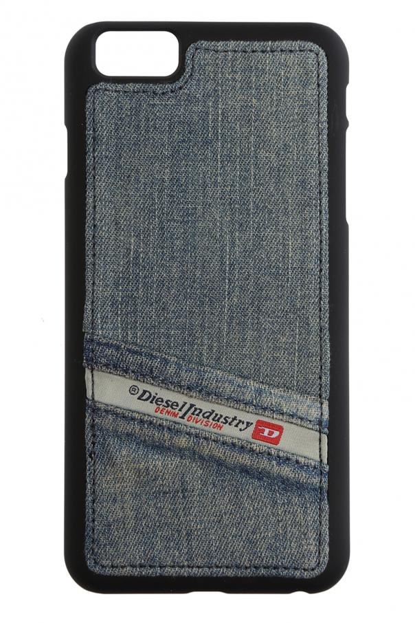 0ee3c466e8d31 Jeansowe etui na iPhone 6 Plus/6s Plus Diesel - sklep internetowy Vitkac