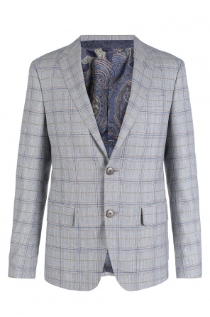 Checked suit od Etro