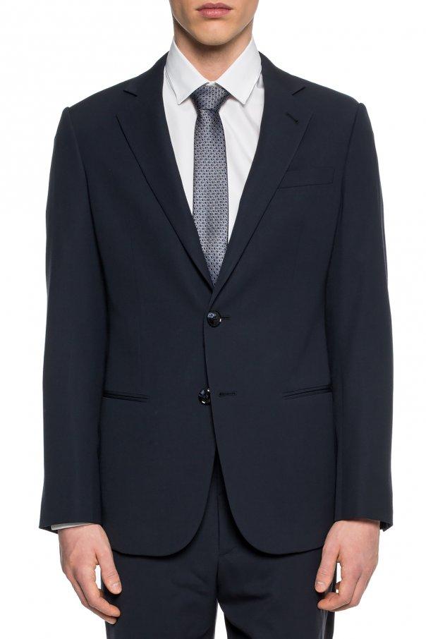 Wool suit od Giorgio Armani
