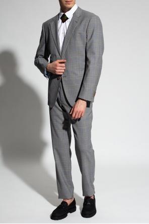 Checked suit od Giorgio Armani