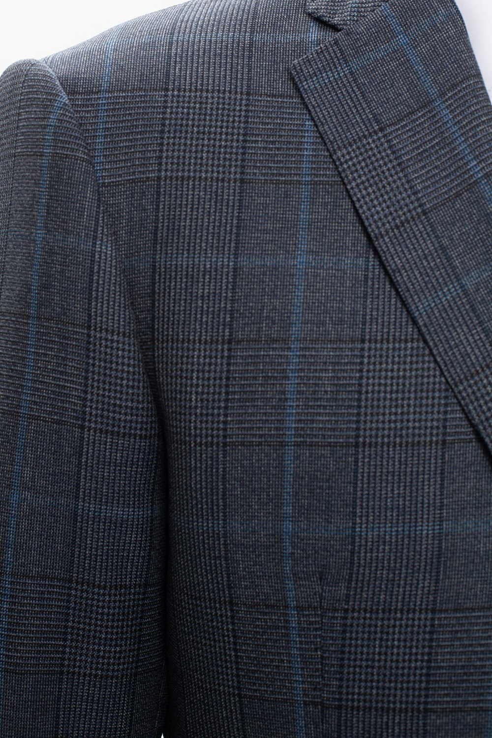 Emporio Armani Checked wool suit