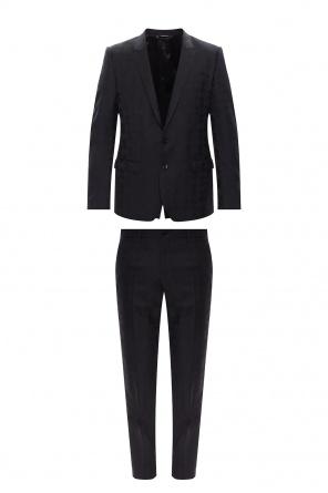 Wełniany garnitur od Dolce & Gabbana