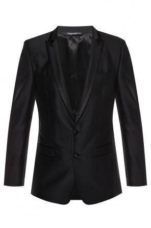 62a50e489accf Jednorzędowy garnitur od Dolce & Gabbana Jednorzędowy garnitur od Dolce &  Gabbana