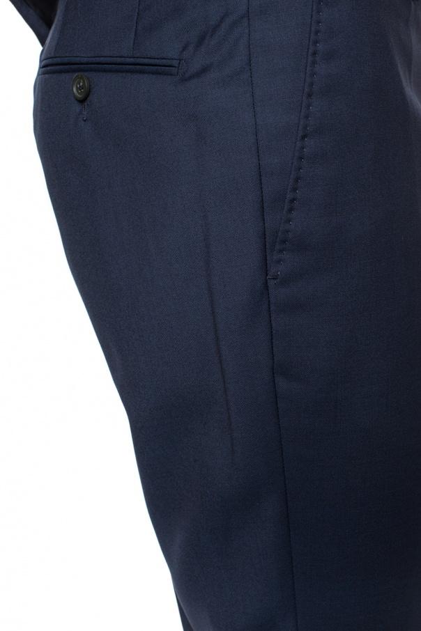 Wool suit od Lanvin