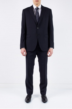 Slim fit wool suit od Lanvin