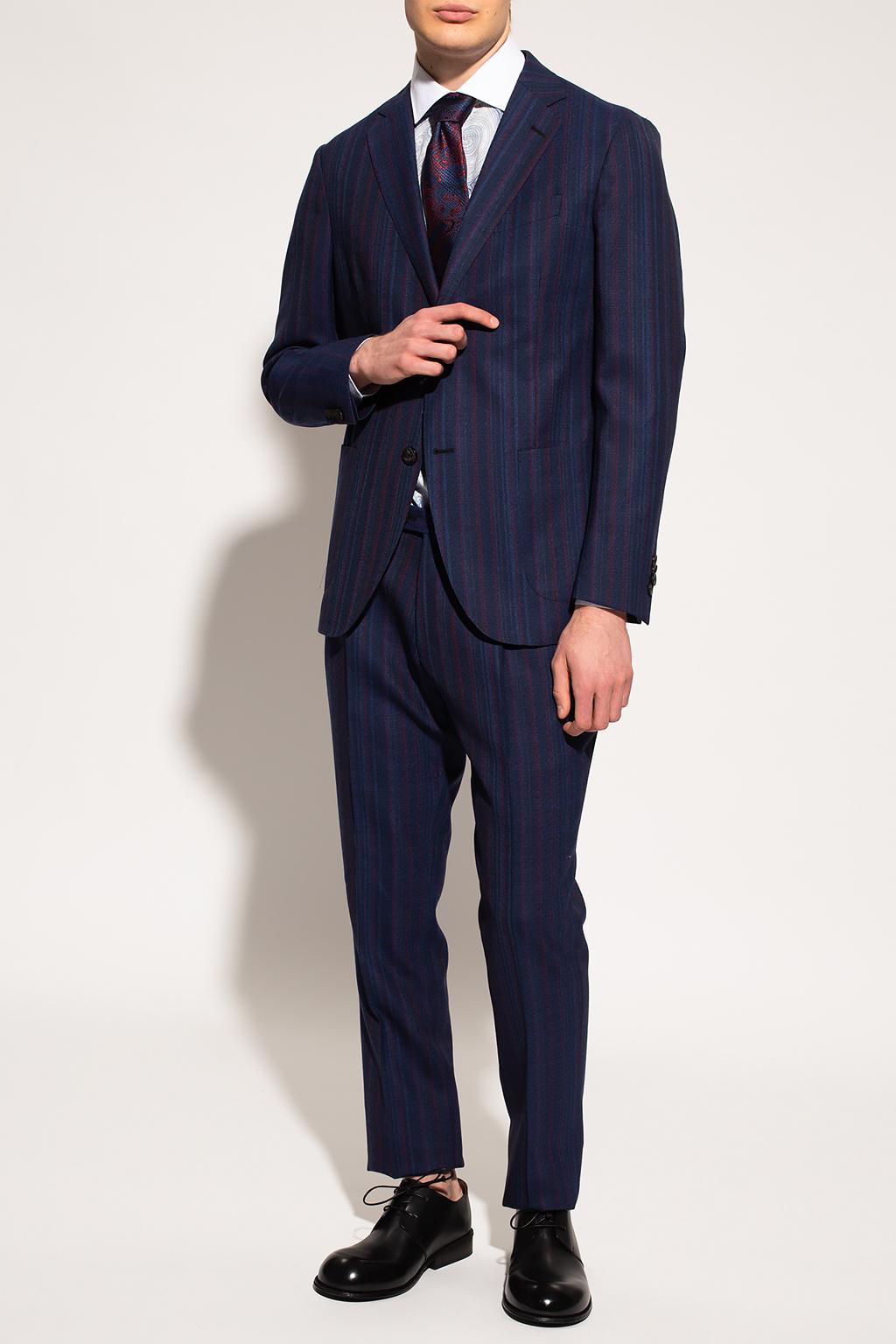 Etro Pinstriped suit