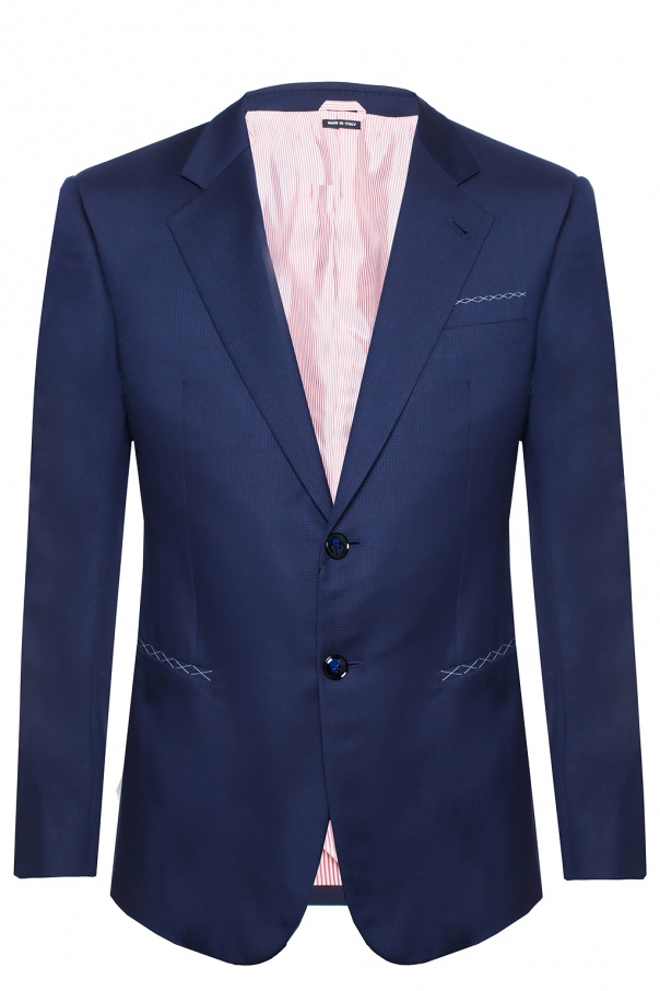 Giorgio Armani Mini-check suit