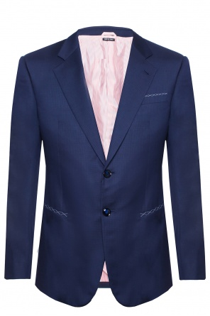 Mini-check suit od Giorgio Armani