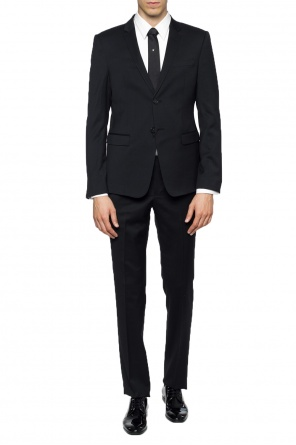 Single-vented suit od Emporio Armani