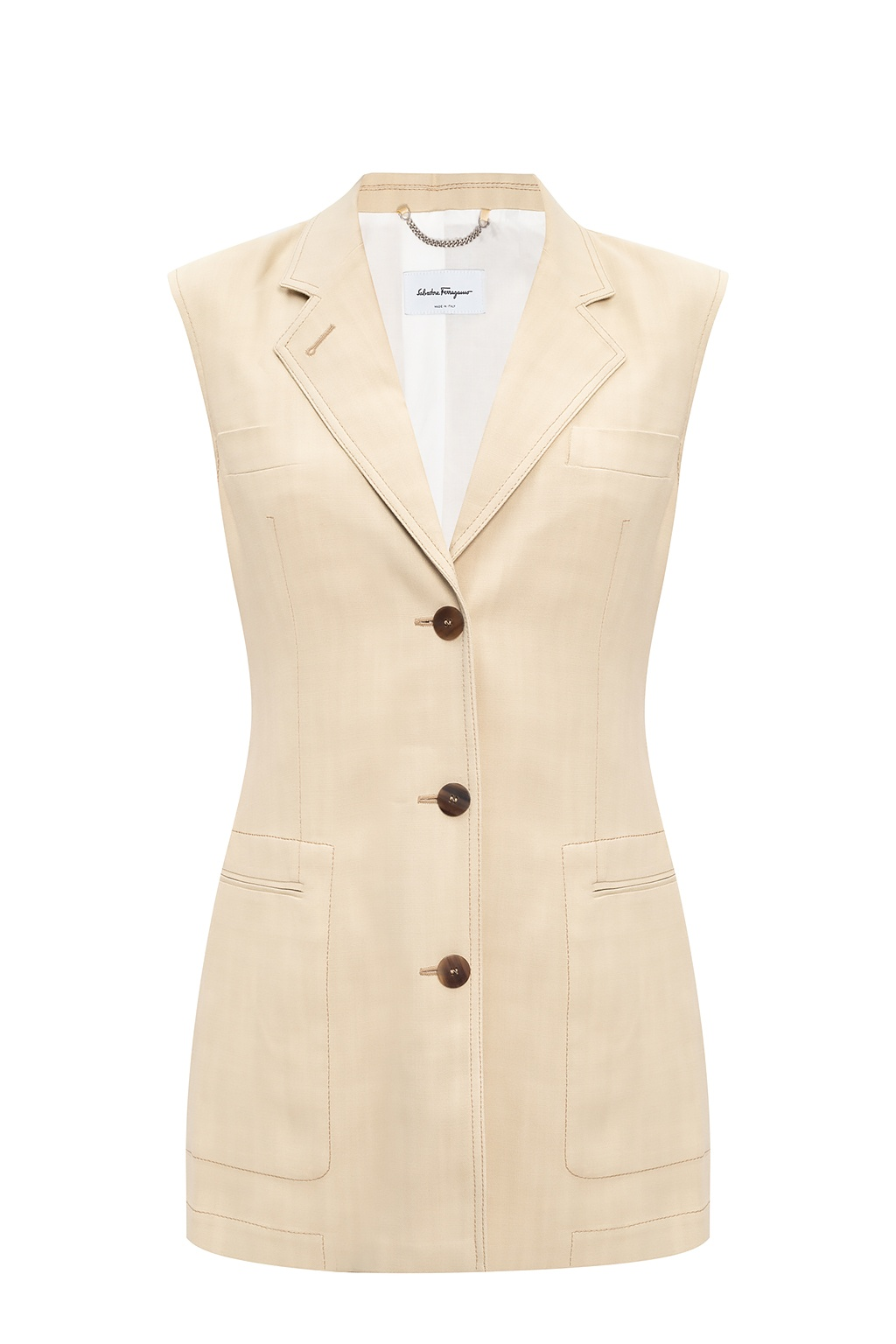 Salvatore Ferragamo Vest with pockets