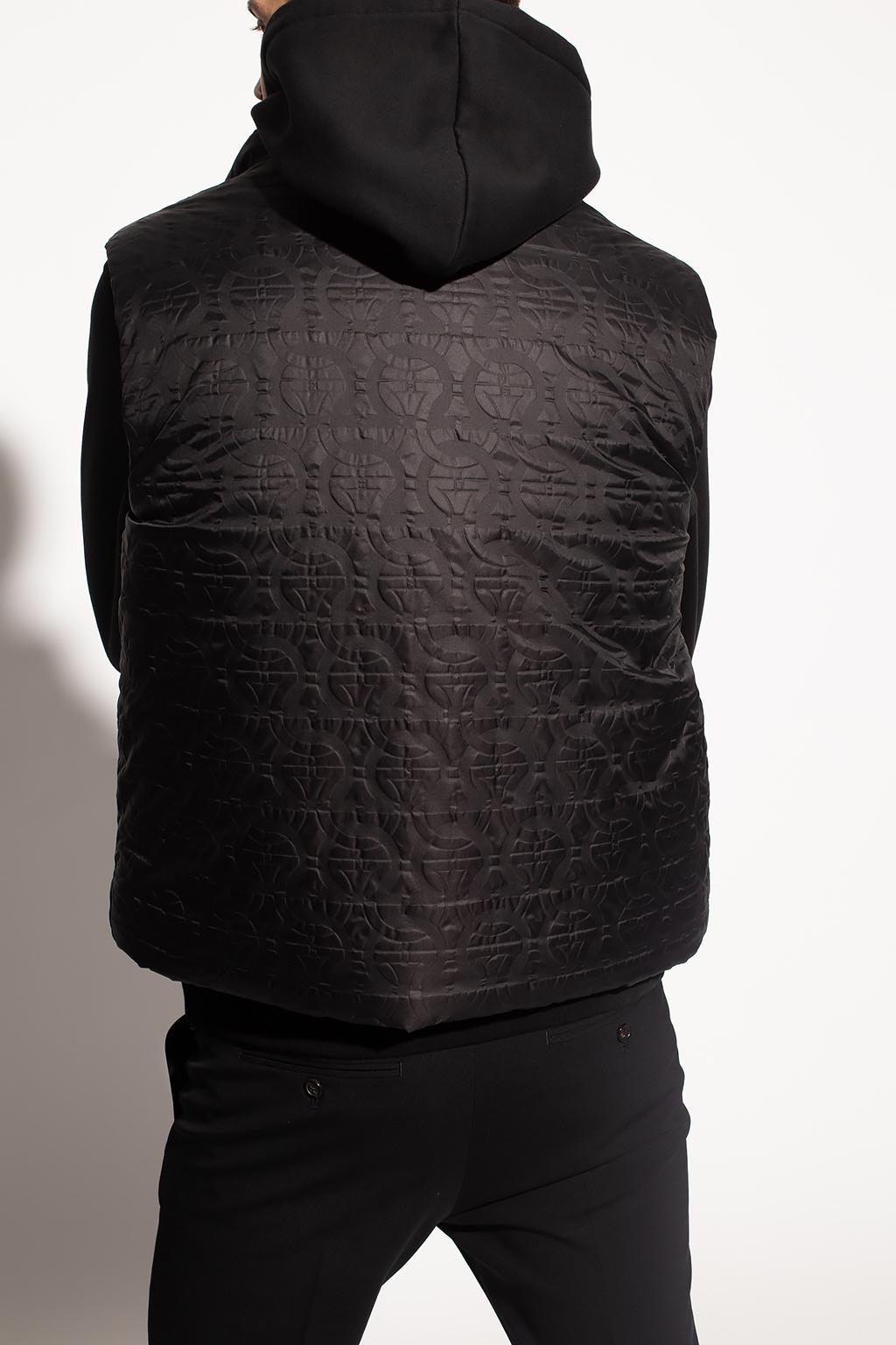 Salvatore Ferragamo Vest with logo
