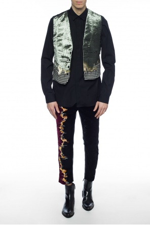Patterned vest od Haider Ackermann