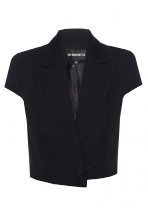 Raw-trimmed vest od Ann Demeulemeester