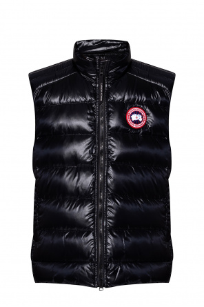 Down vest with logo od Canada Goose