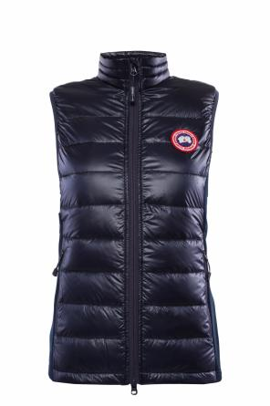 Quilted vest with logo od Canada Goose
