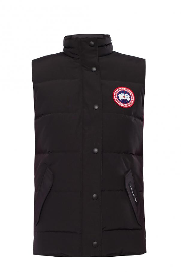 Canada Goose 'Freestyle' branded quilted down vest