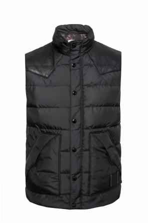 Quilted down vest od Coach