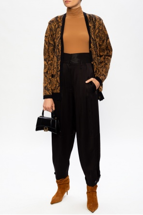 Patterned cardigan od Saint Laurent