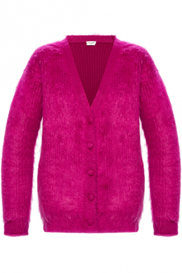 Saint Laurent Mohair cardigan