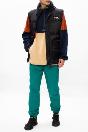 Quilted vest with logo od Fila