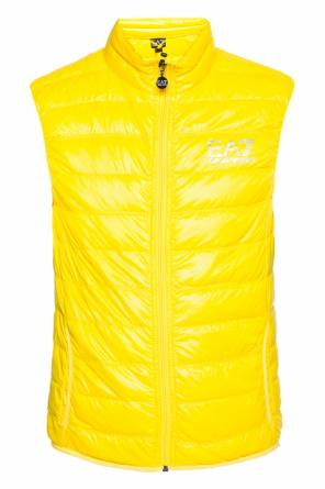Down vest with standing collar od EA7 Emporio Armani